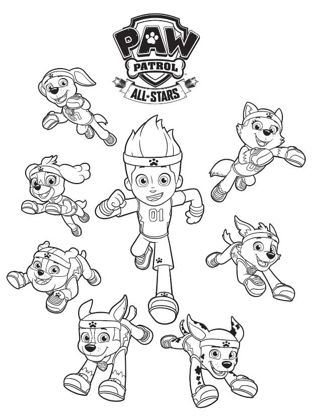 - FREE PAW Patrol Coloring Pages - Happiness Is Homemade