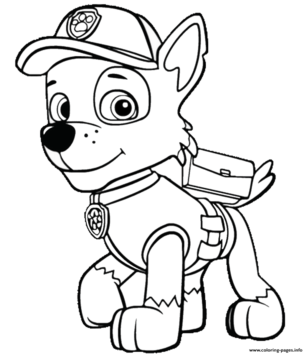 photograph relating to Paw Patrol Printable Pictures known as Totally free PAW Patrol Coloring Web pages - Pleasure is Handmade