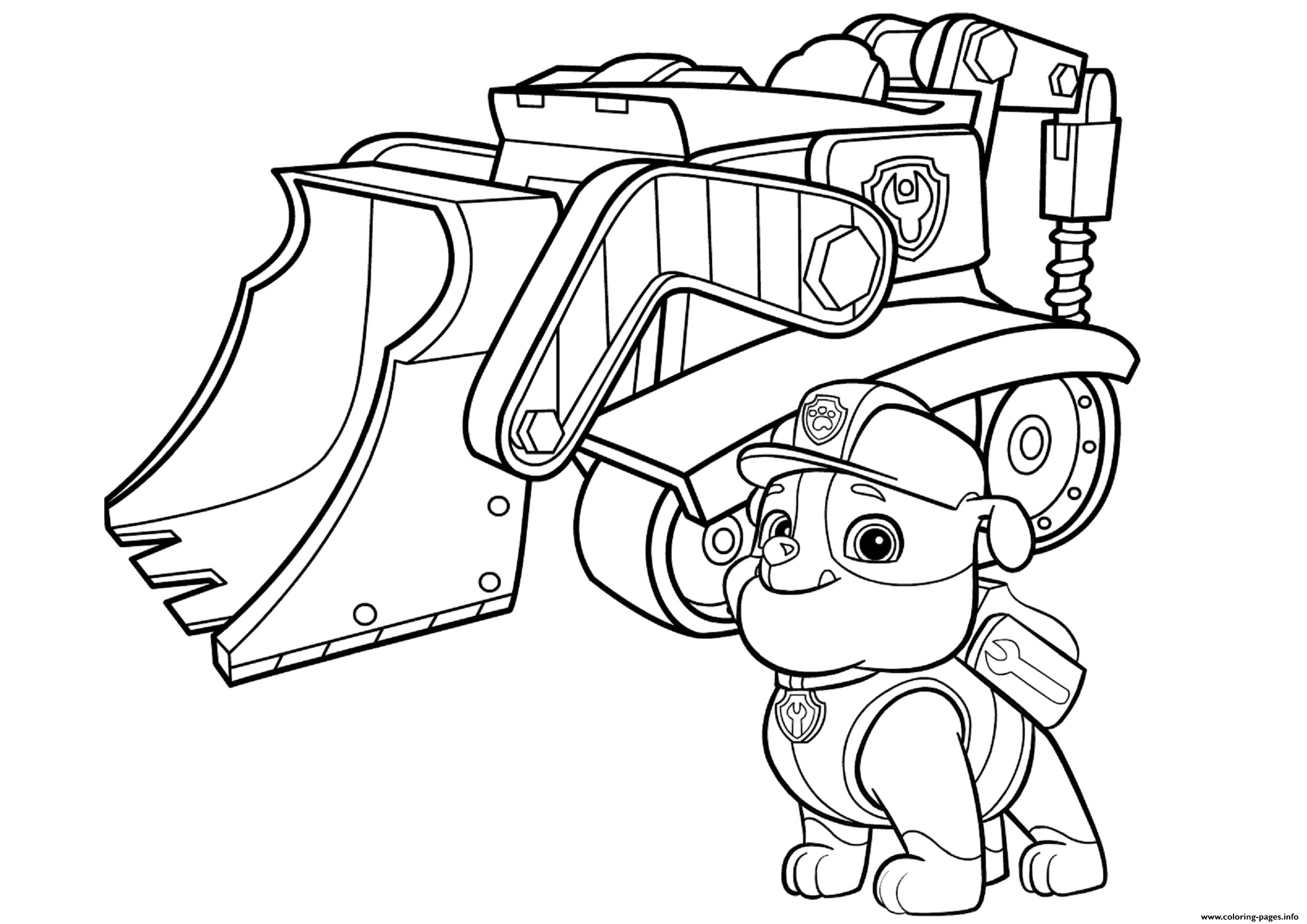 image relating to Paw Patrol Printable Pictures identified as Totally free PAW Patrol Coloring Web pages - Joy is Handmade