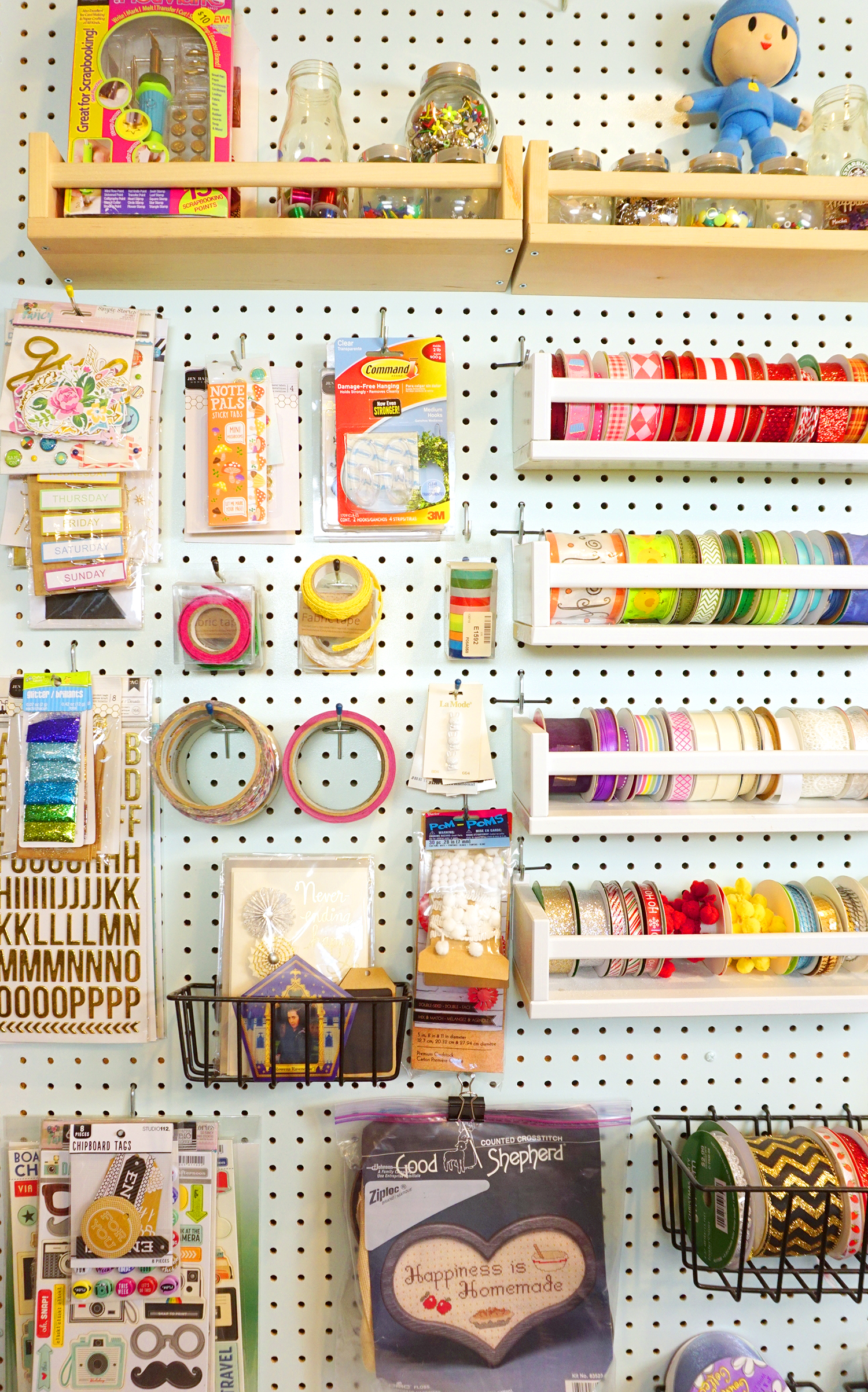 Craft Room Tour Happiness Is Homemade