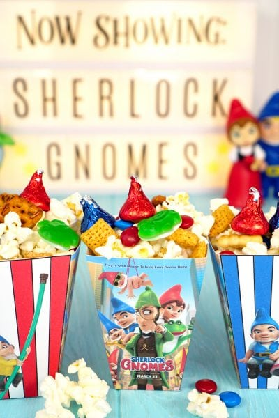 Sherlock Gnomes Movie Snack Mix