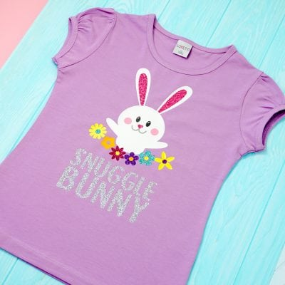 Snuggle Bunny Easter Shirt + SVG File