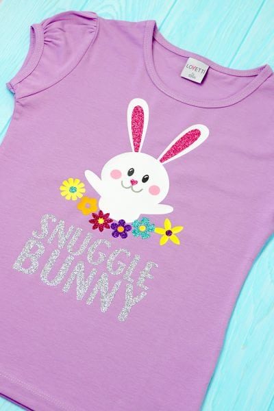 Snuggle Bunny Easter Shirt + SVG File