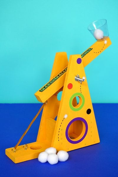 Marshmallow Launcher with Young Woodworkers Kit Club