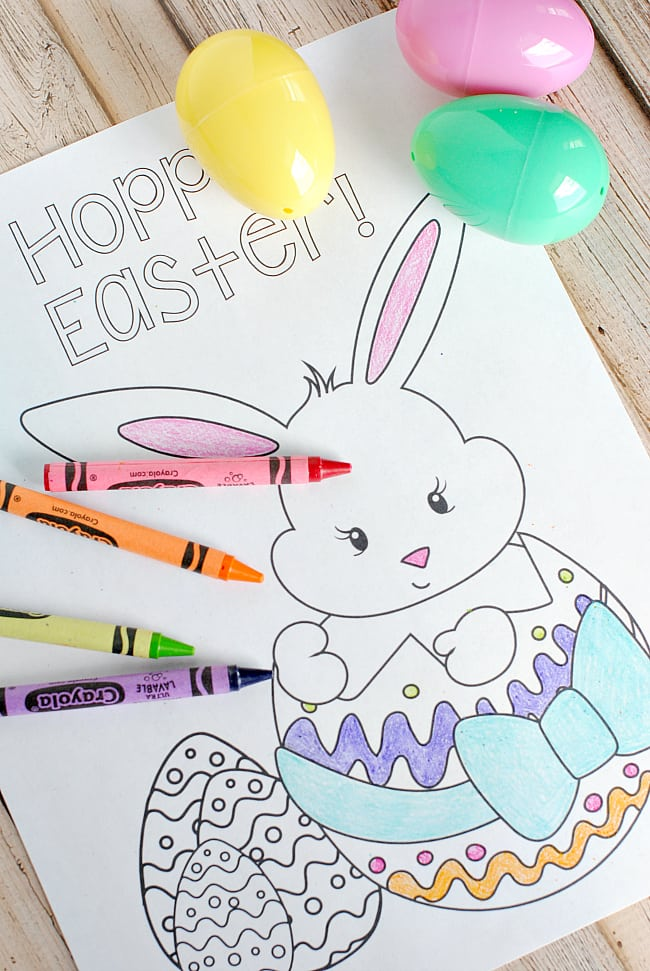 FREE Easter Coloring Pages Happiness is Homemade