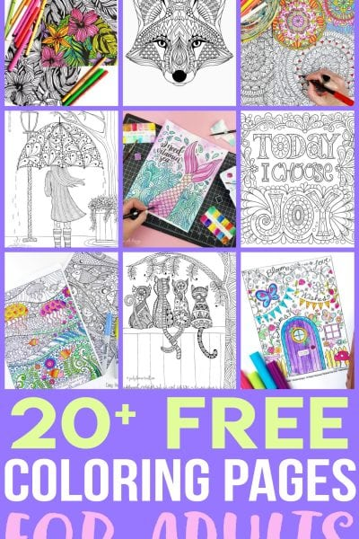 Free Adult Coloring Pages FI
