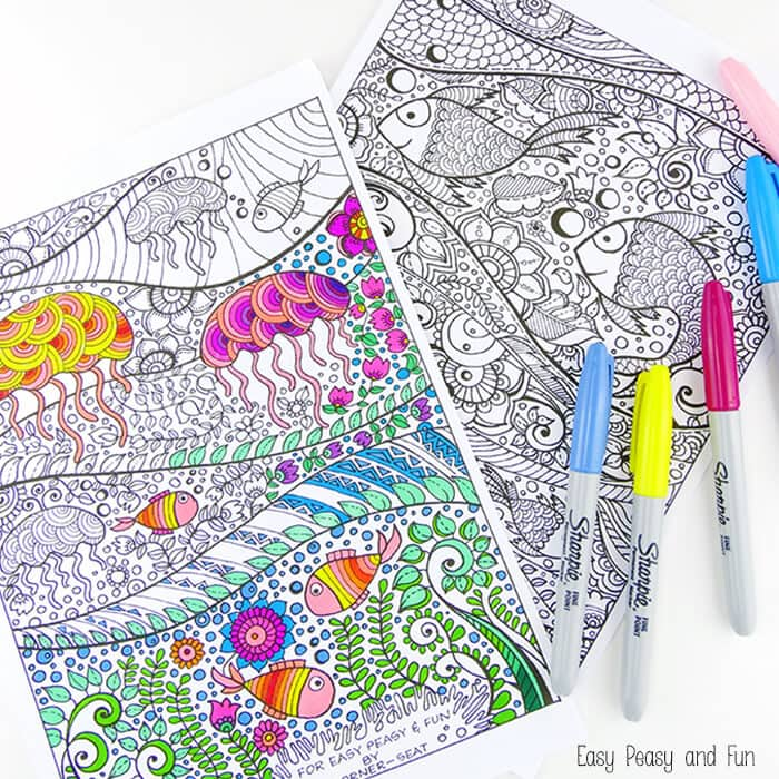 mandala coloring pages by alisa burke