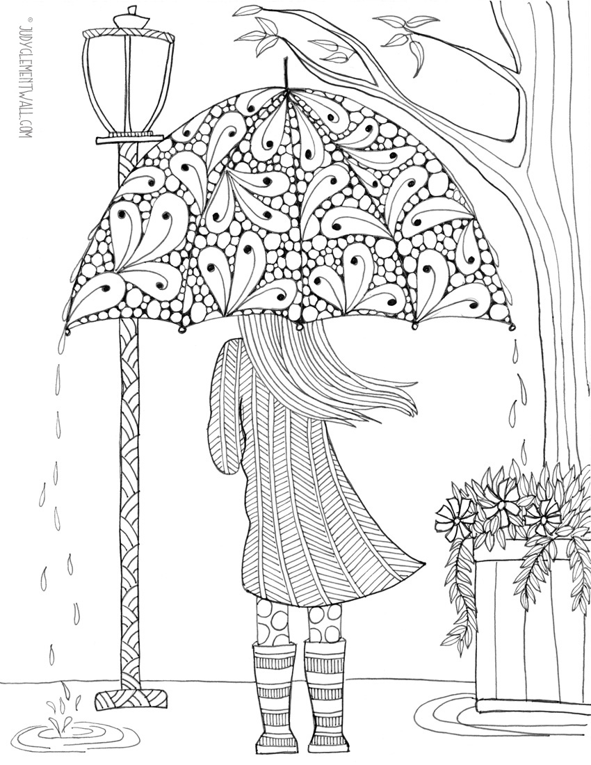 Geliefde FREE Adult Coloring Pages - Happiness is Homemade #QH49