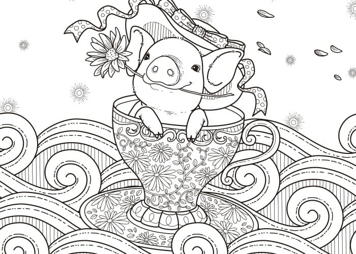 Printable colouring pages for adults