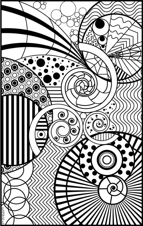 FREE Adult Coloring Pages - Happiness Is Homemade