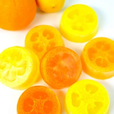 Citrus Loofah Soaps