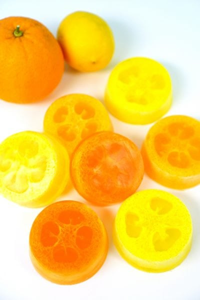 Citrus Luffa Soap - Loofah Soap