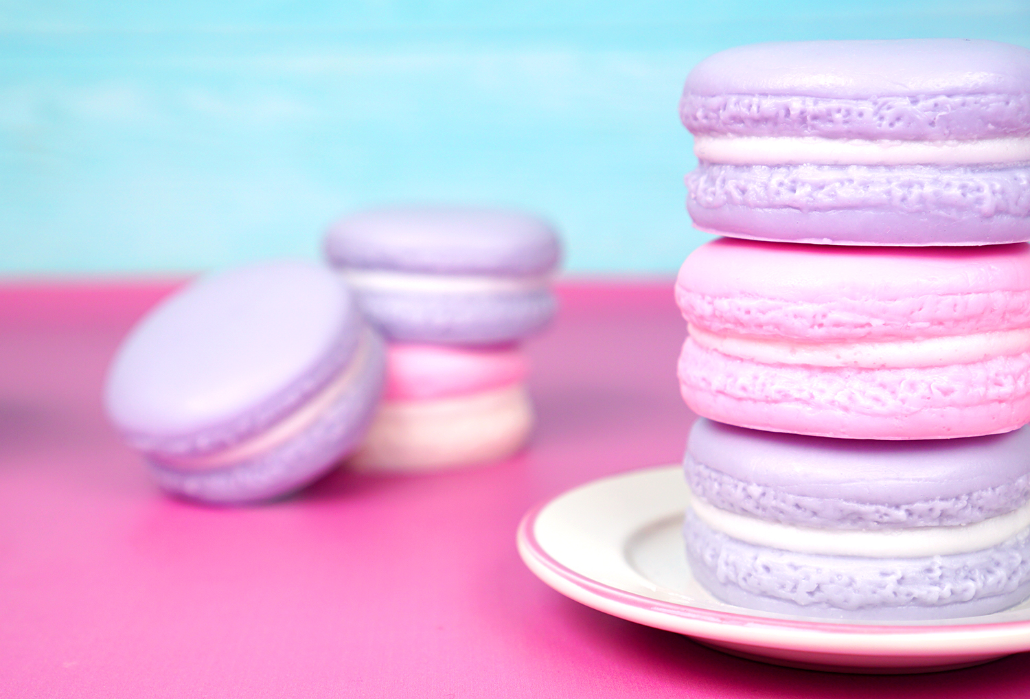 Easy Diy Gift Idea Macaron Soaps Happiness Is Homemade