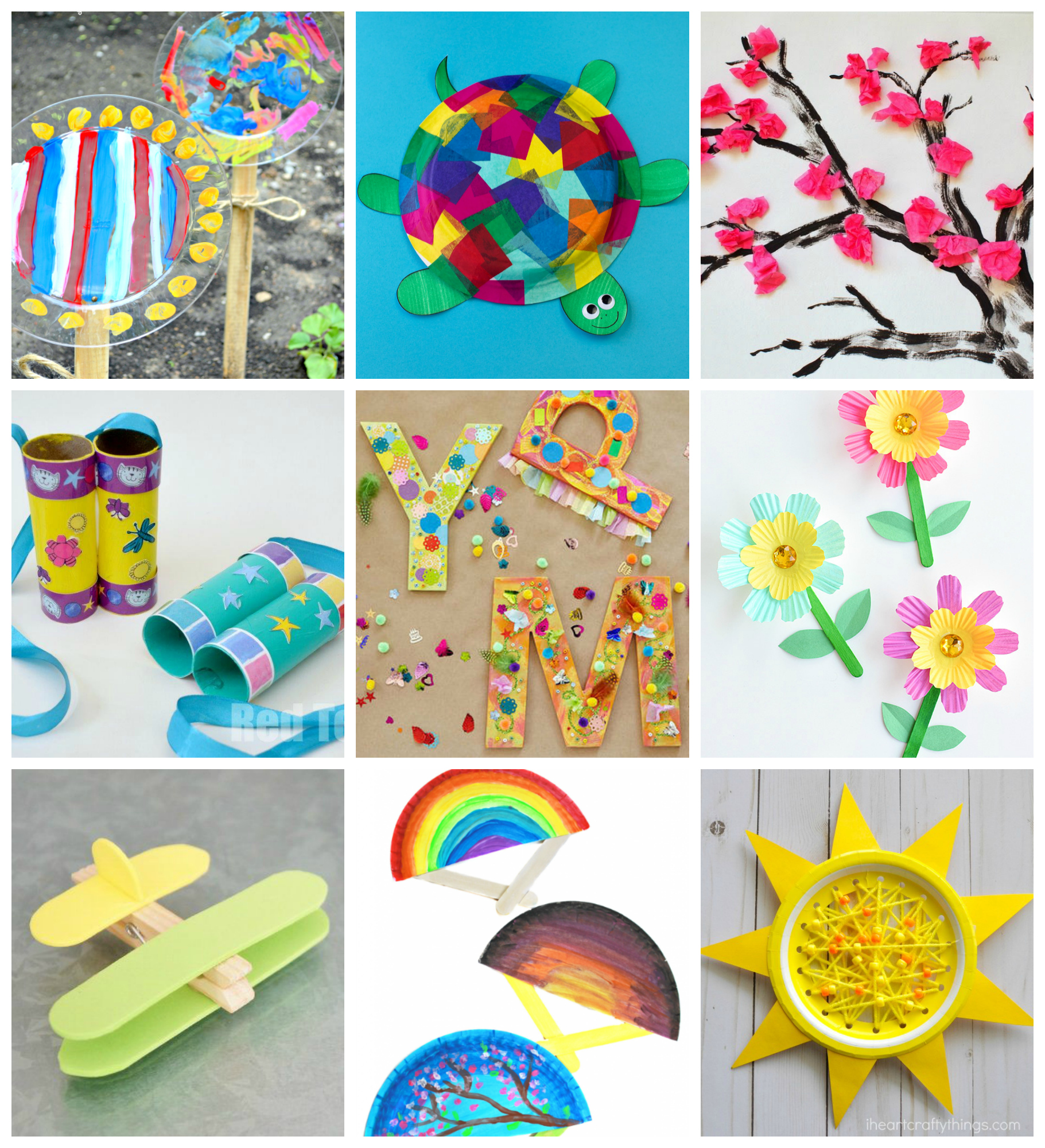 Craft: 50+ Quick & Easy Kids Crafts That ANYONE Can Make