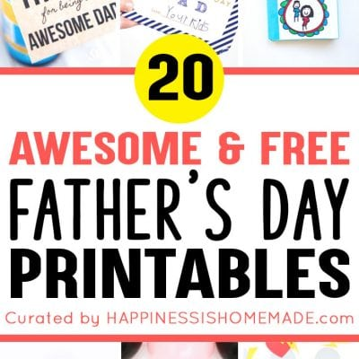 20+ Free Father's Day Printables