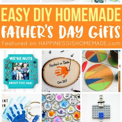 20+ Homemade Father's Day Gifts That Kids Can Make