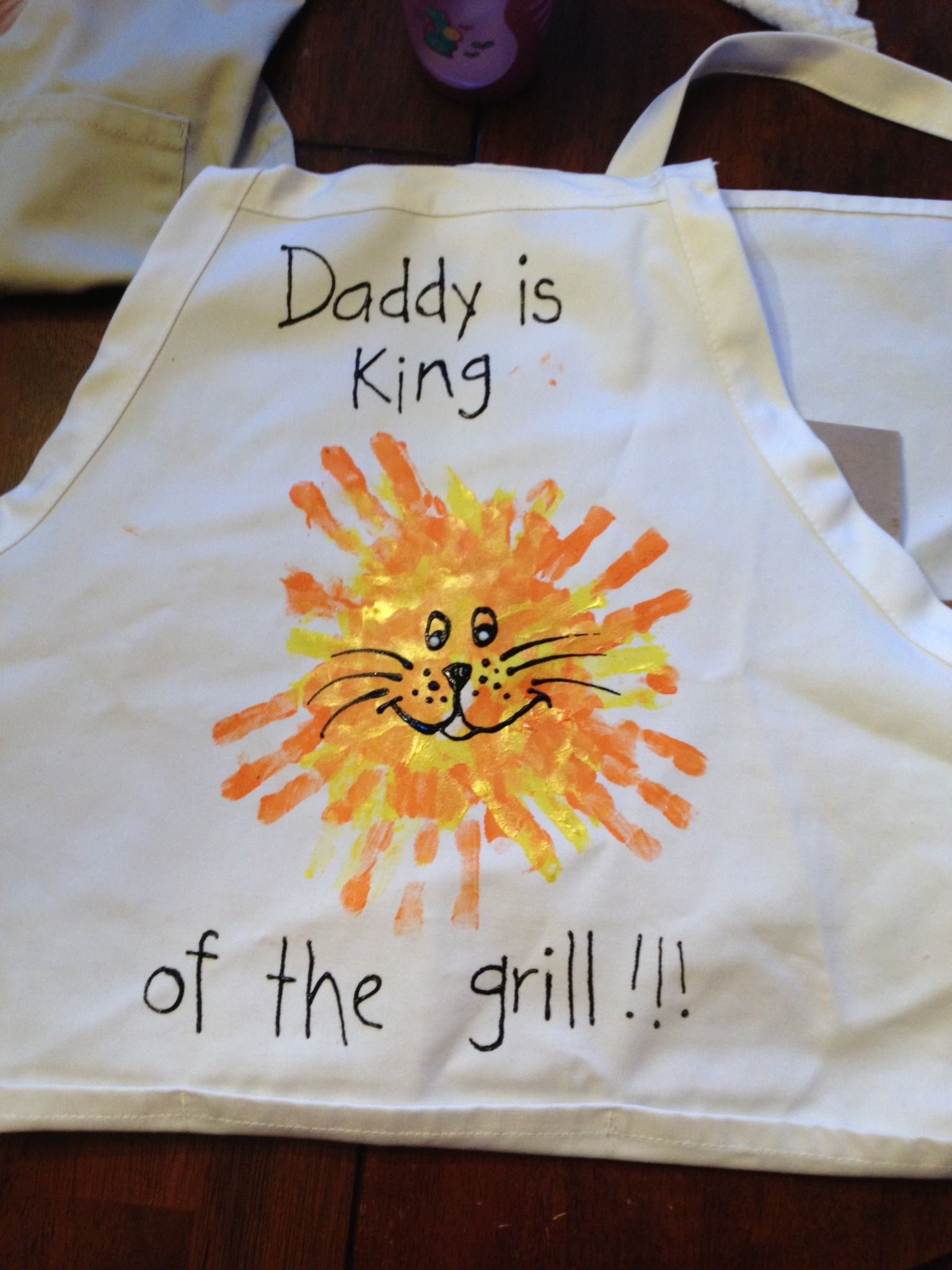 Fathers Day Diy Plate