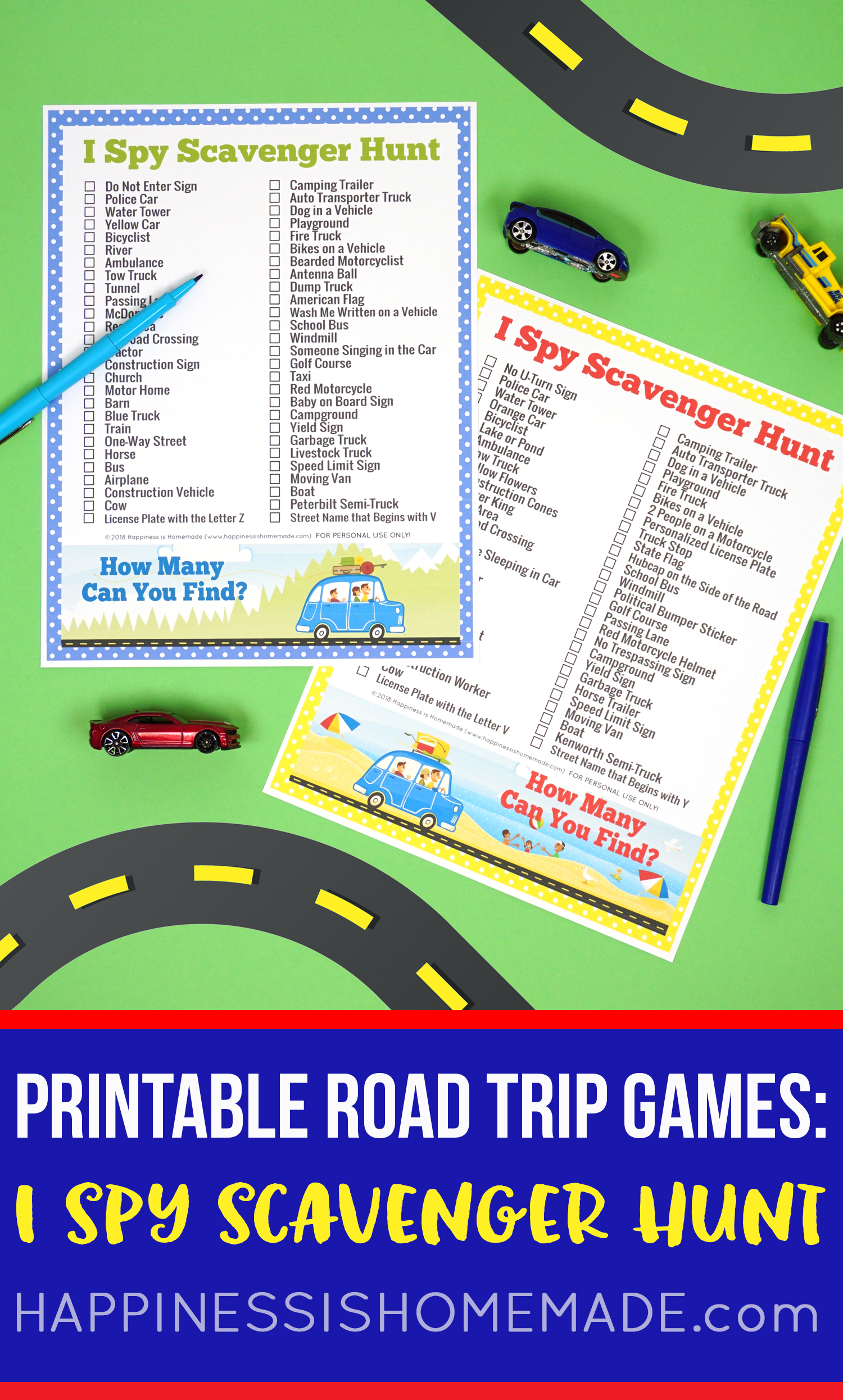 picture about License Plate Game Printable identify Highway Family vacation Video games: License Plate Coloring Map + Smores Snack