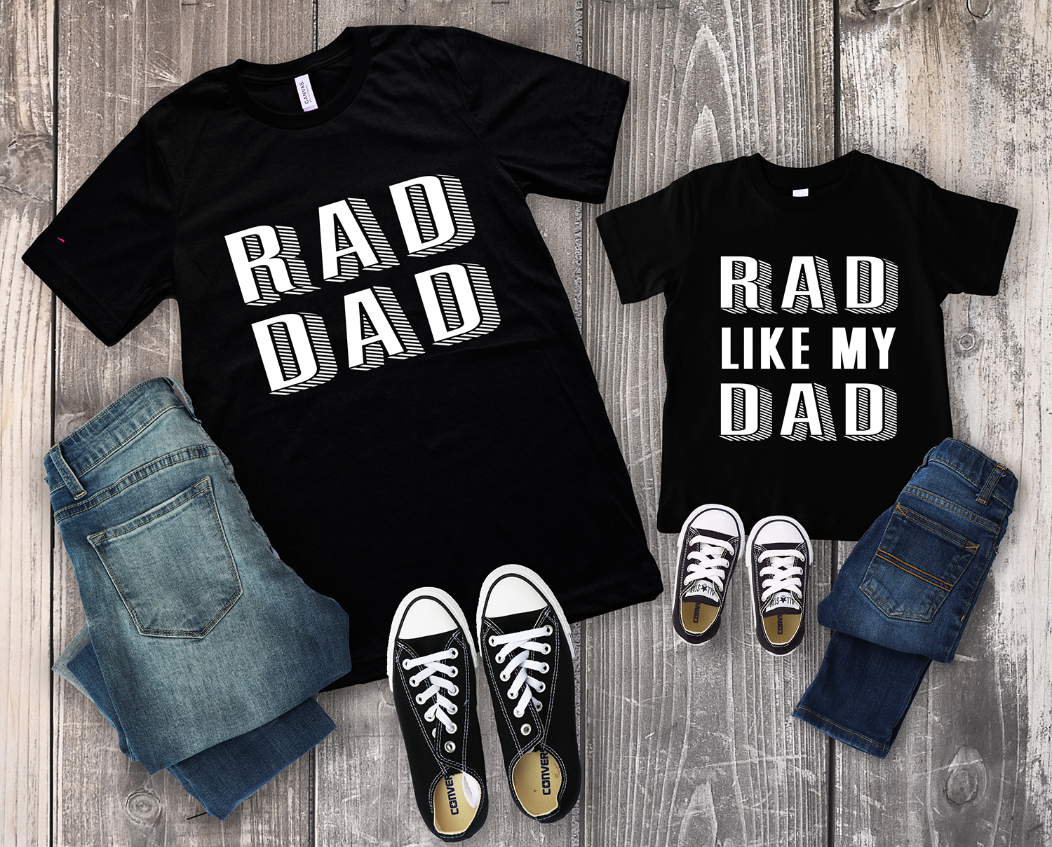 ad15d12b Rad Dad Father's Day Shirts + SVG Files - Happiness is Homemade