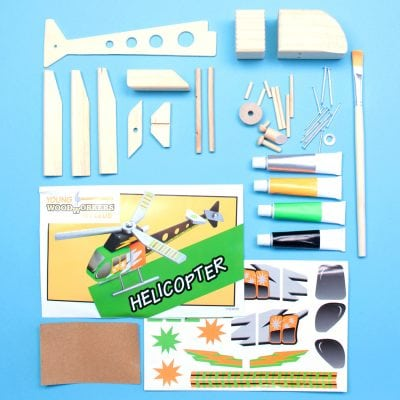 Subscription Boxes for Kids: Young Woodworkers Kit Club