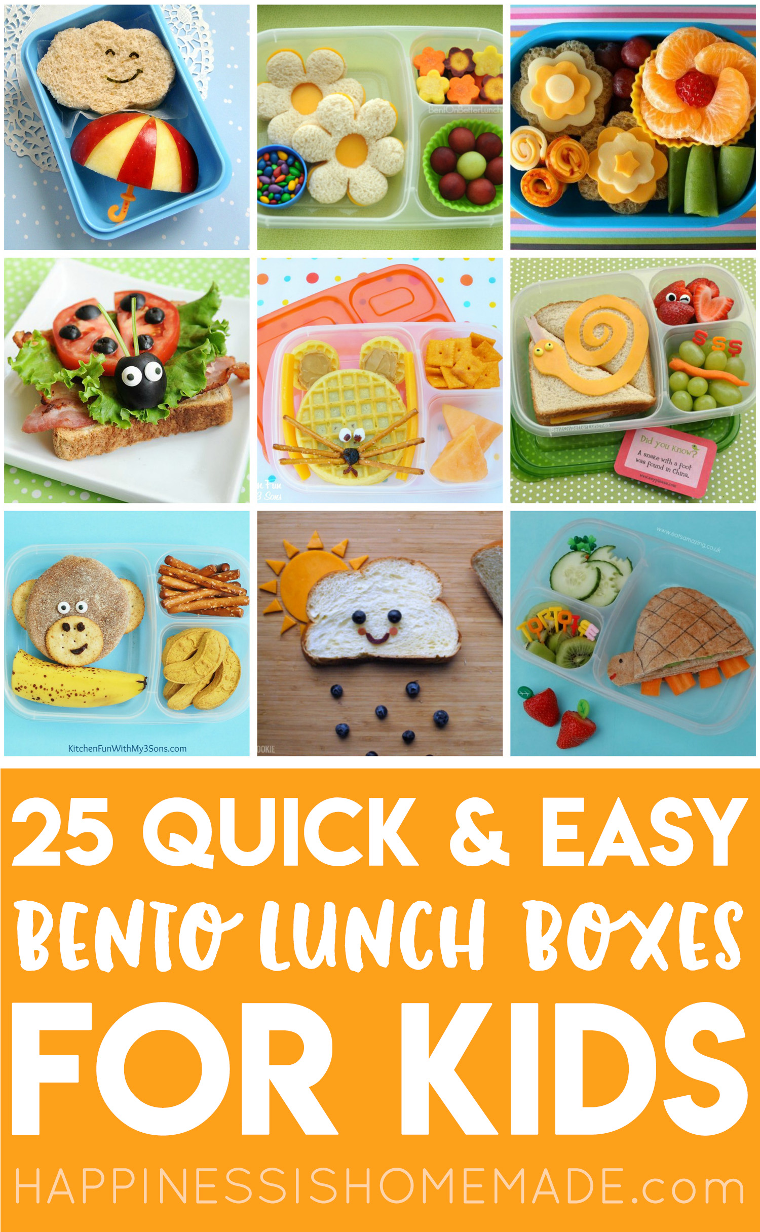 5a6f76ccbf01 25+ Easy Bento Lunch Boxes for Kids - Happiness is Homemade