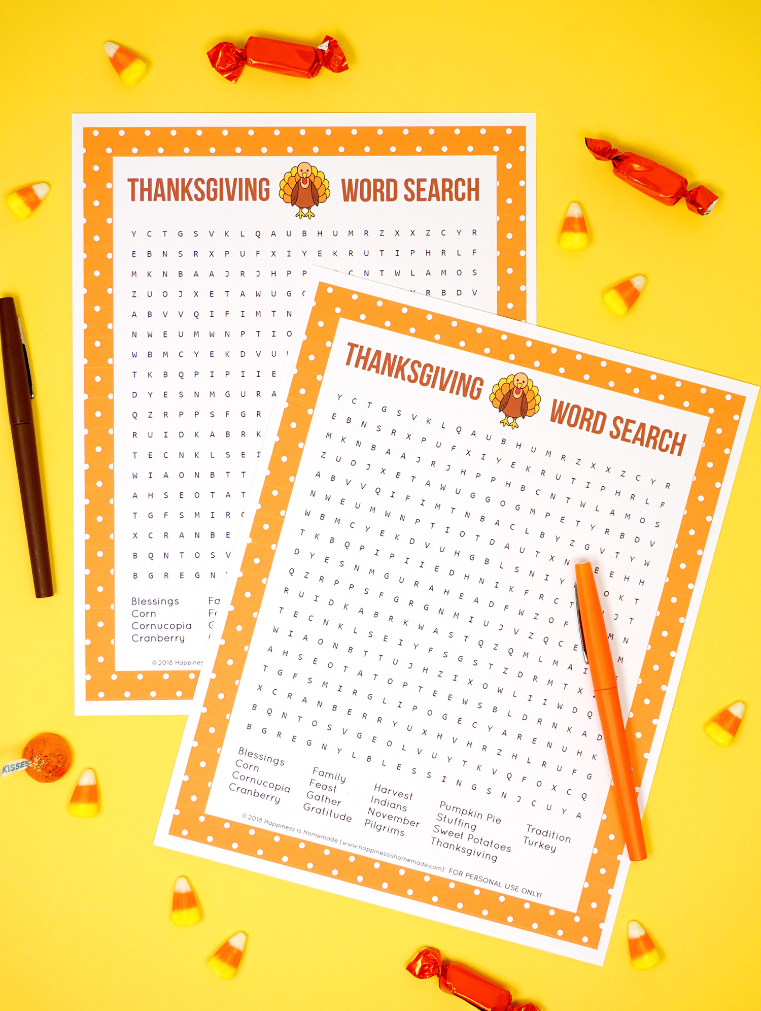 photo regarding Printable Thanksgiving Word Search known as Thanksgiving Term Appear Printable - Contentment is Do-it-yourself