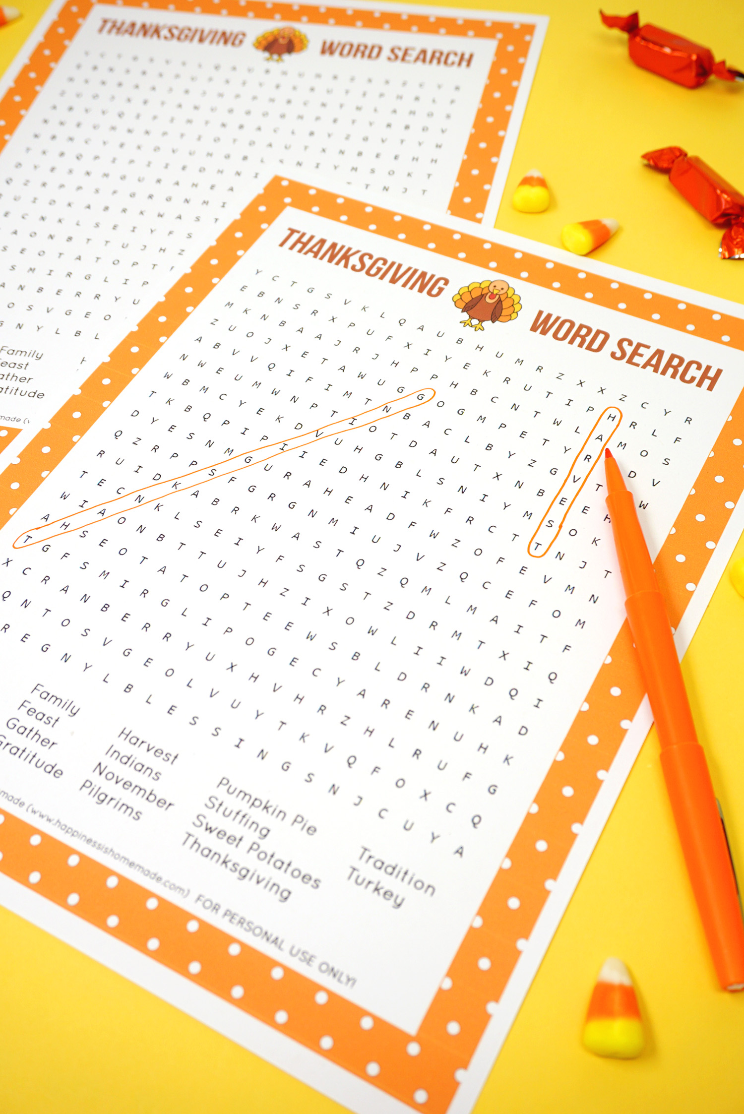 photograph about Thanksgiving Word Search Printable identified as Thanksgiving Phrase Appear Printable - Joy is Home made
