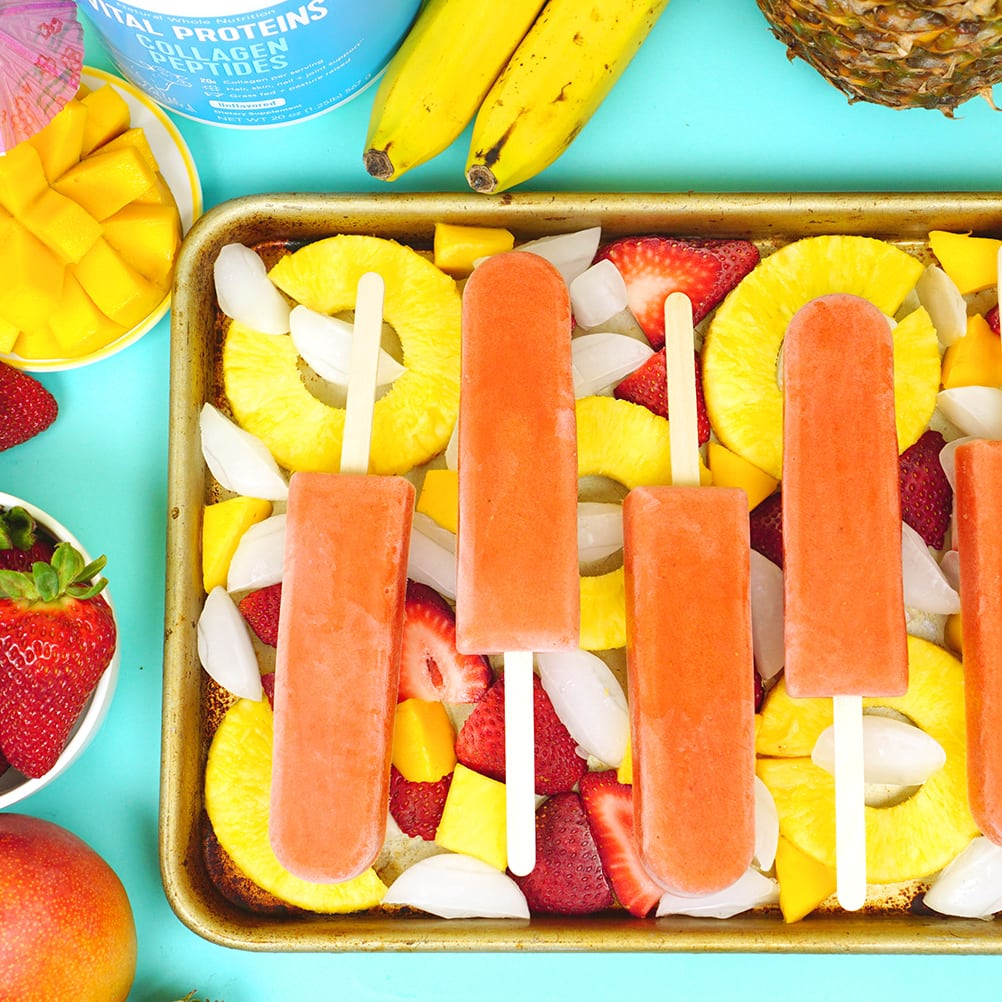 All Natural Tropical Frozen Fruit Bars