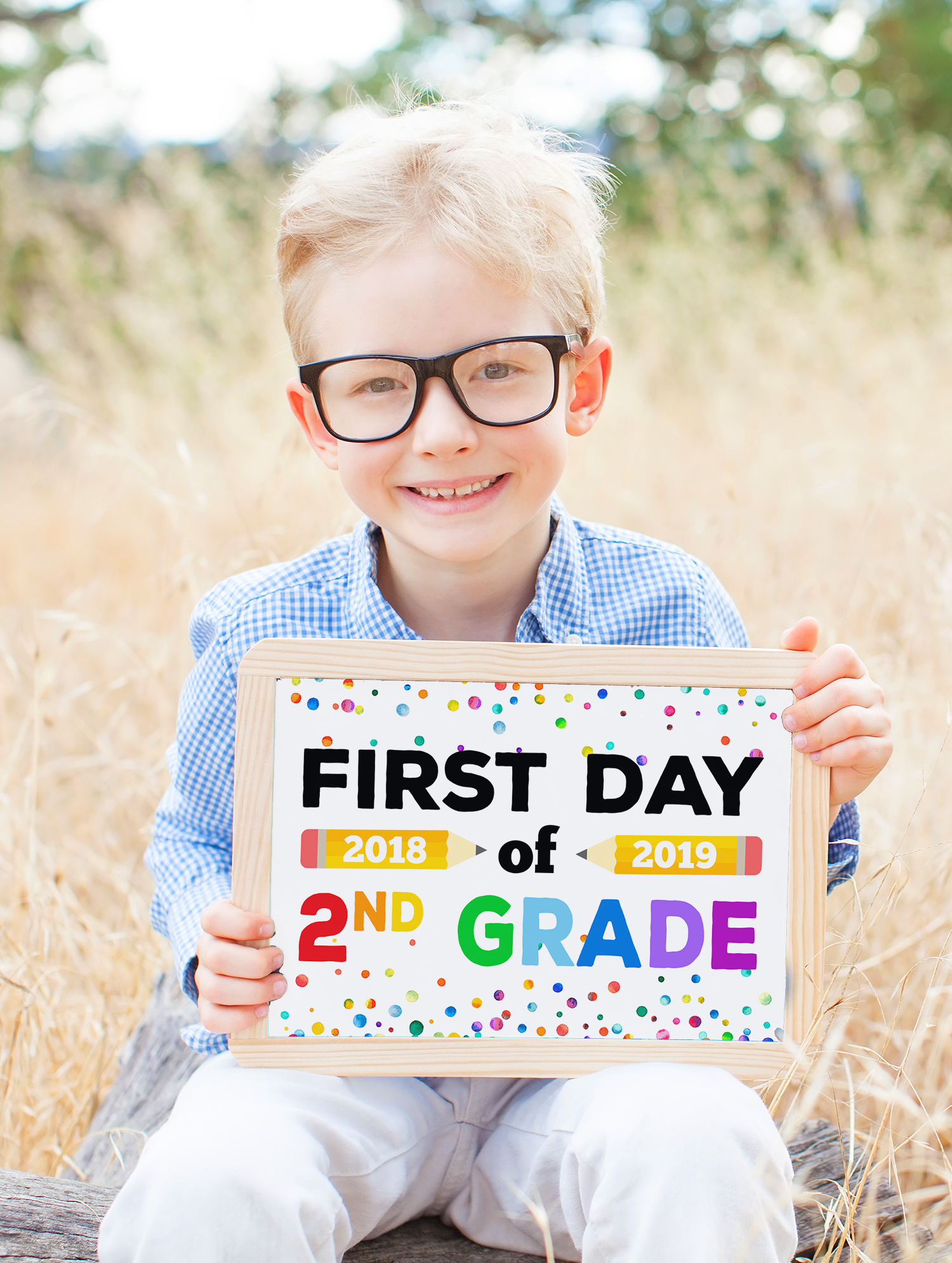 First Day of School 2018-19 Printable Sign