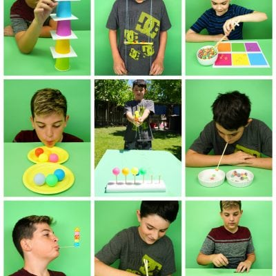 Minute to Win It Games for Kids, Teens, and Adults