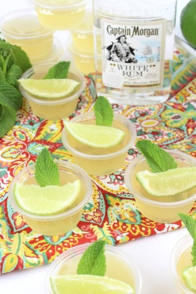 Mojito Jello Shot Recipe