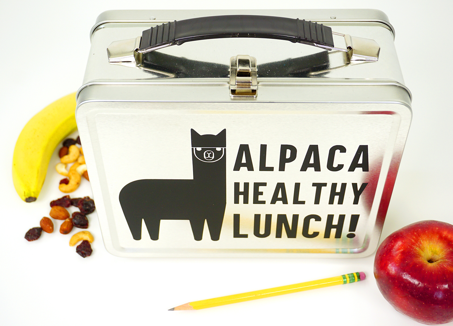 Funny Alpaca Lunch Box Happiness Is Homemade