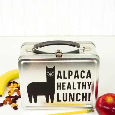 Funny Alpaca Lunch Box