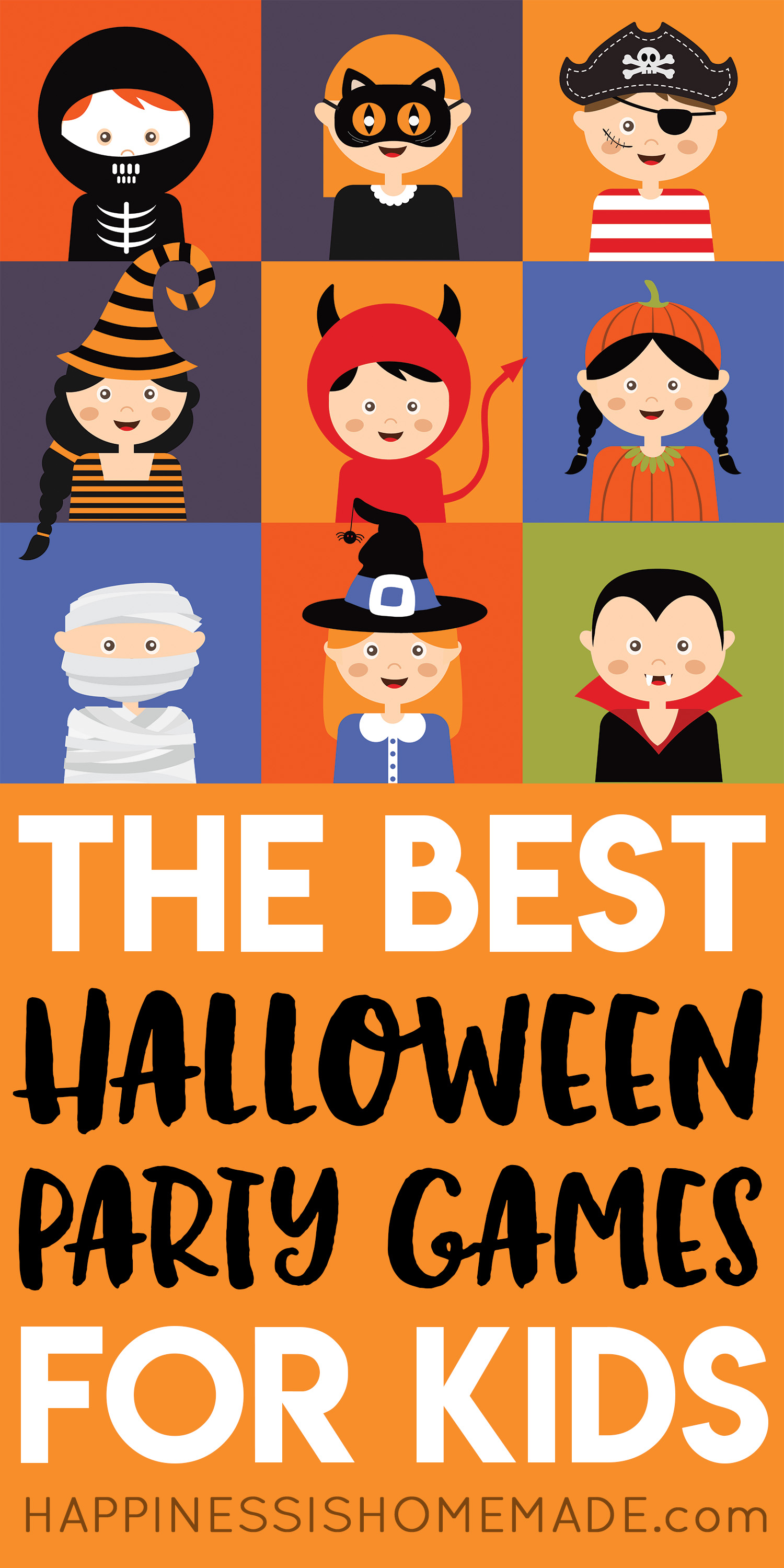 The Best Halloween Games for Kids - Halloween Party Games for Kids