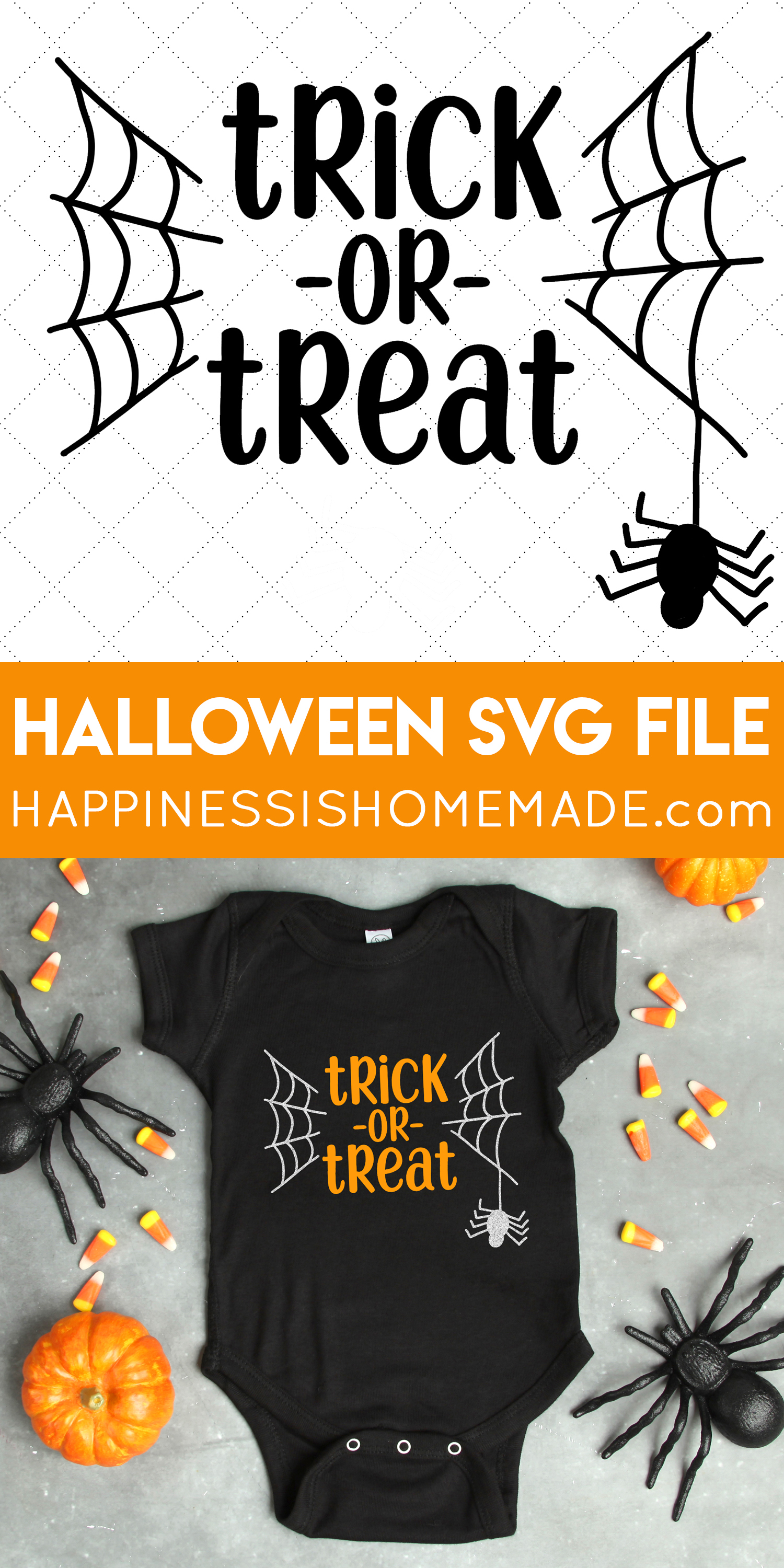 Halloween Friends Shirt Svg.Trick Or Treat Halloween Svg File Happiness Is Homemade