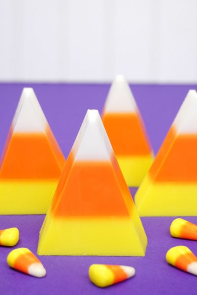 Easy DIY Candy Corn Soap