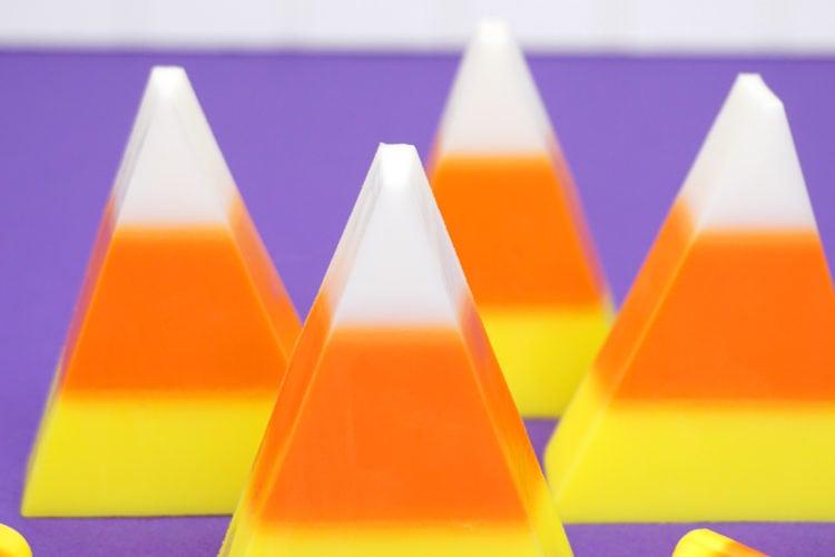 Easy DIY Candy Corn Soap