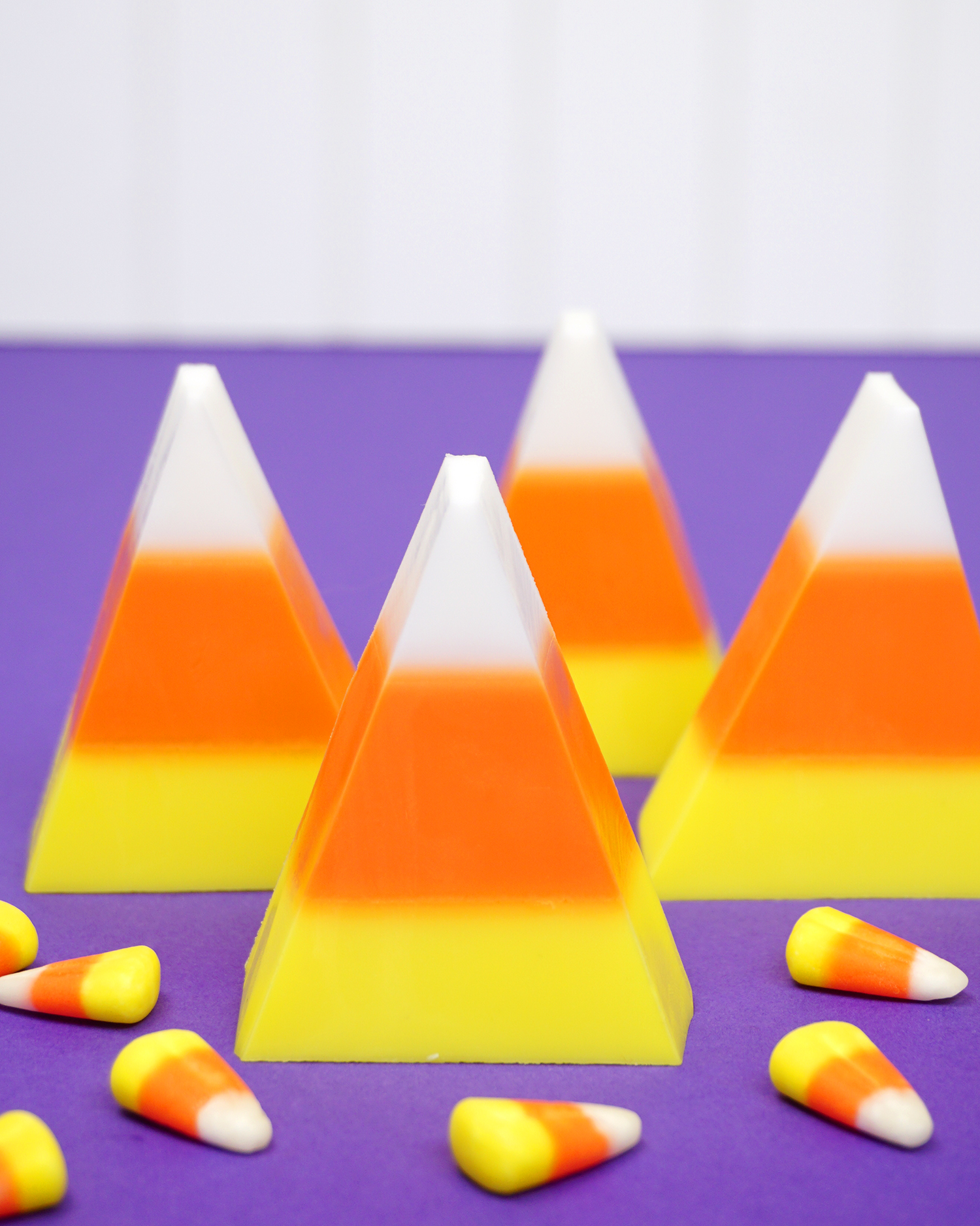 Easy Diy Candy Corn Soap Happiness Is Homemade
