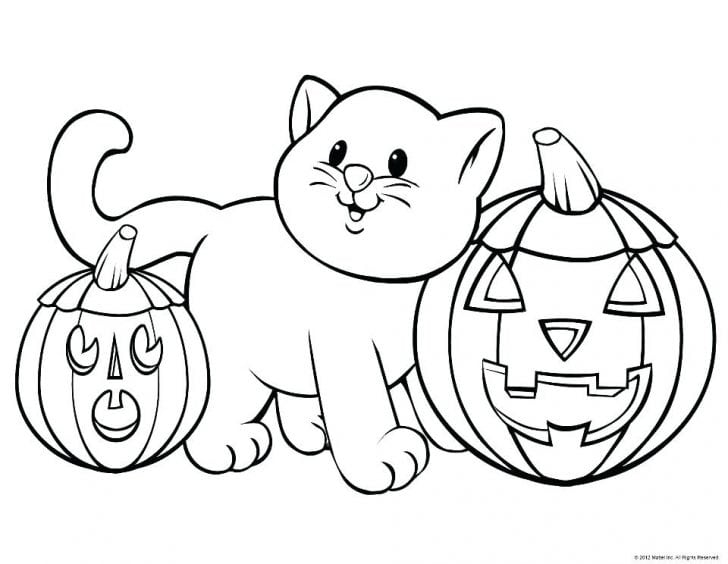 Pumpkin Coloring Pages For Preschool - Coloring Home | 564x728