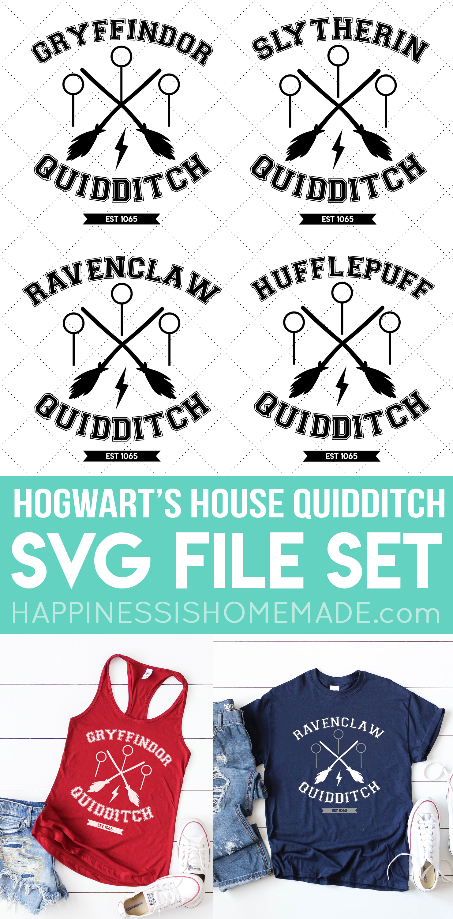 Ravenclaw Quidditch Shirt Free Svg File Happiness Is