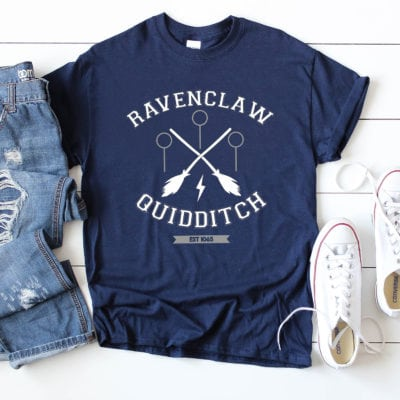 Ravenclaw Quidditch Shirt + FREE SVG File
