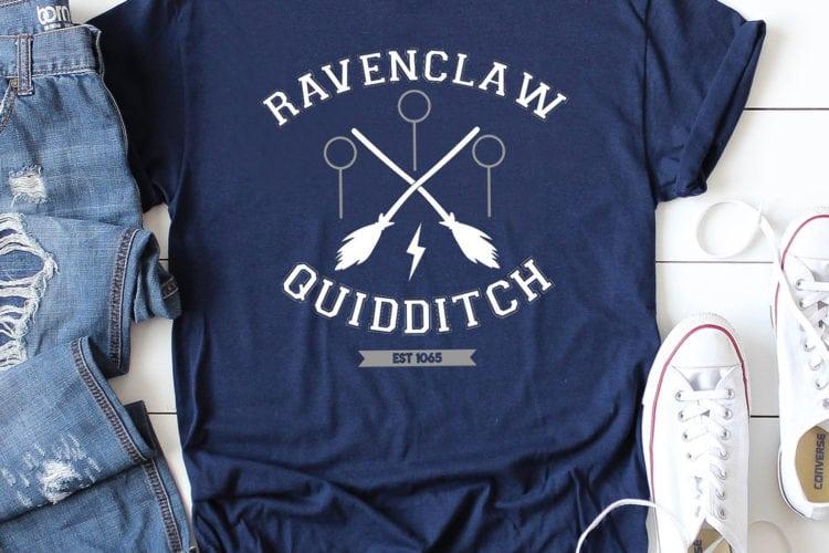 Ravenclaw Quidditch Shirt + FREE SVG File
