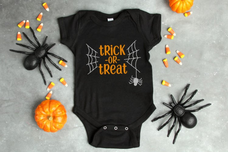 """""""Trick or Treat"""" Halloween SVG File"""