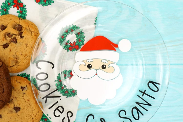 Cookies for Santa Plate + Free Christmas SVGs