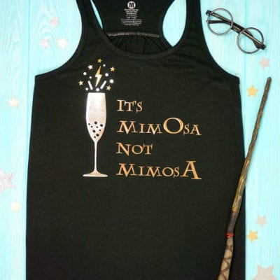 "Harry Potter Brunch Shirt: ""It's MimOsa Not MimosA"" + SVG"