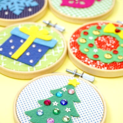 DIY Christmas Ornaments – Easy Group Craft!