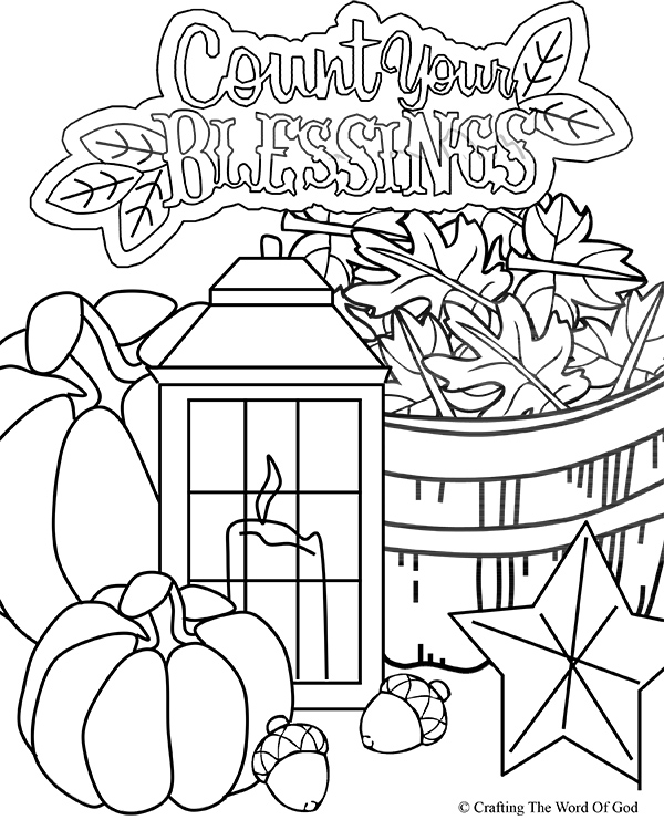 FREE Thanksgiving Coloring Pages for Adults & Kids - Happiness is ...