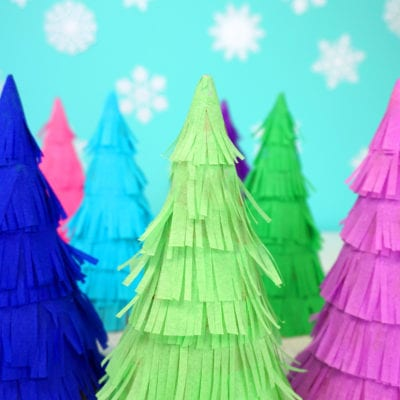 Christmas Tree Piñata Party Favors