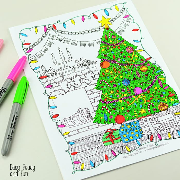 free christmas coloring pages for adults and kids happiness is homemade free christmas coloring pages for