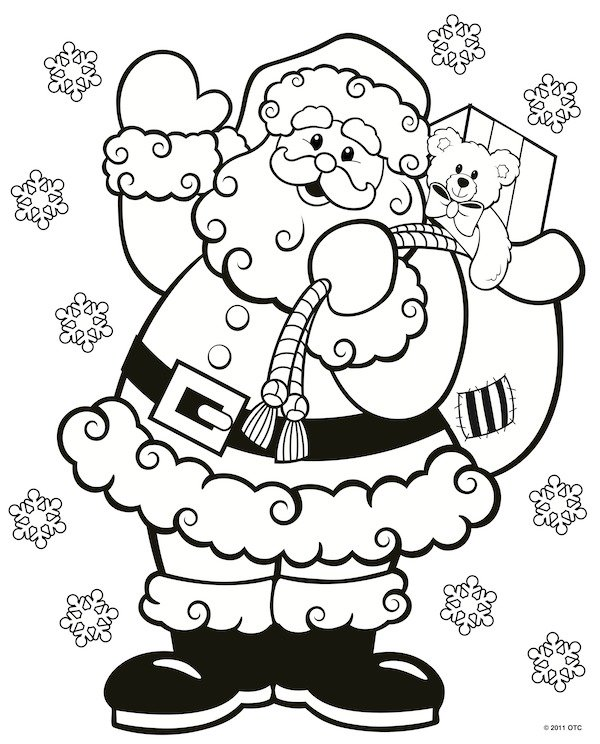 FREE Christmas Coloring Pages for Adults and Kids ...